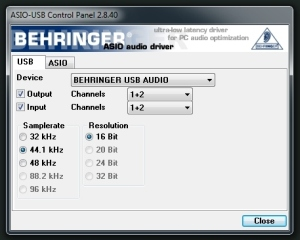 micha behringer guitar link ucg102 audio interface review. Black Bedroom Furniture Sets. Home Design Ideas