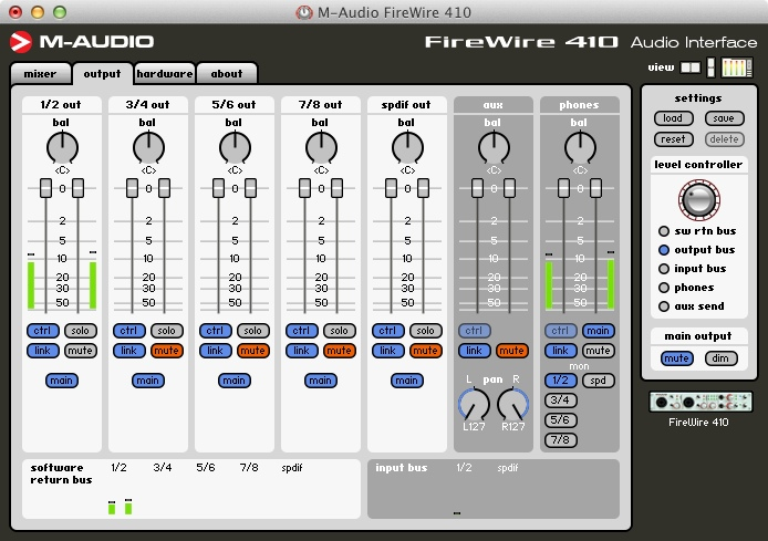m audio fast track drivers mac sierra
