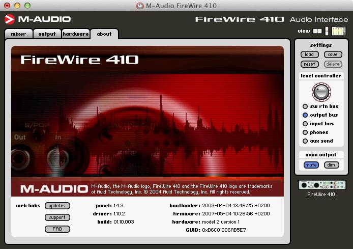 MichałKaszczyszyn.com » M-Audio Firewire 410 audio interface review