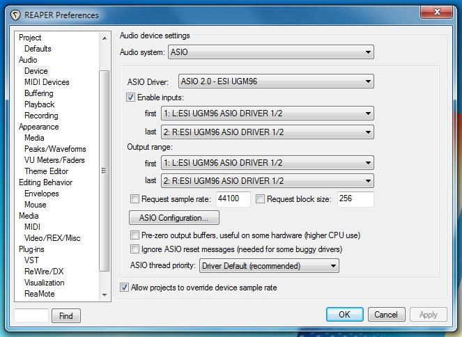 Asio Driver For Windows 7